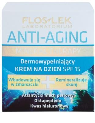 FlosLek Laboratorium Anti-Aging Mineral Therapy crema de zi regeneratoare SPF 15 2