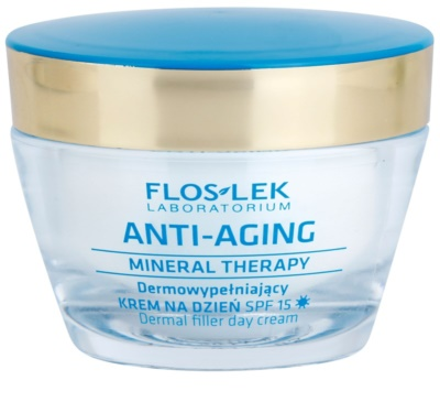 FlosLek Laboratorium Anti-Aging Mineral Therapy crema de zi regeneratoare SPF 15