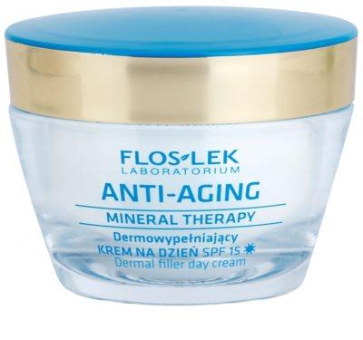 FlosLek Laboratorium Anti-Aging Mineral Therapy faltenfüllende Tagescreme SPF 15