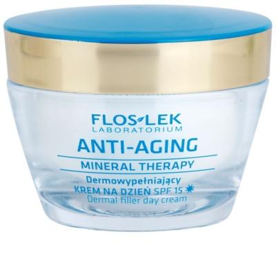 FlosLek Laboratorium Anti-Aging Mineral Therapy попълващ дневен крем SPF 15