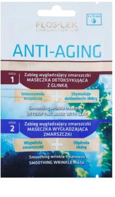 FlosLek Laboratorium Anti-Aging Mineral Therapy pielęgnacja przeciwzmarszczkowa z minerałami