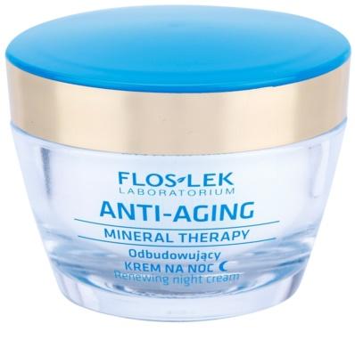 FlosLek Laboratorium Anti-Aging Mineral Therapy helyreállító éjszakai krém