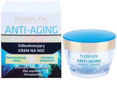 FlosLek Laboratorium Anti-Aging Mineral Therapy creme de noite renovador 1