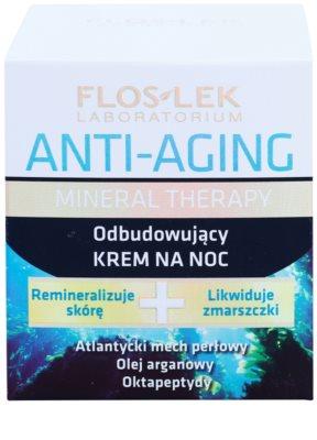 FlosLek Laboratorium Anti-Aging Mineral Therapy creme de noite renovador 2