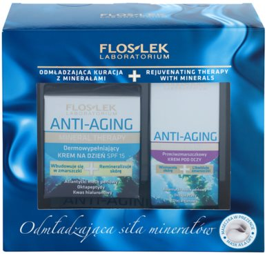 FlosLek Laboratorium Anti-Aging Mineral Therapy kozmetični set I.