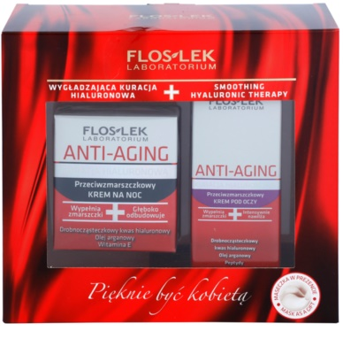 FlosLek Laboratorium Anti-Aging Hyaluronic Therapy косметичний набір I.