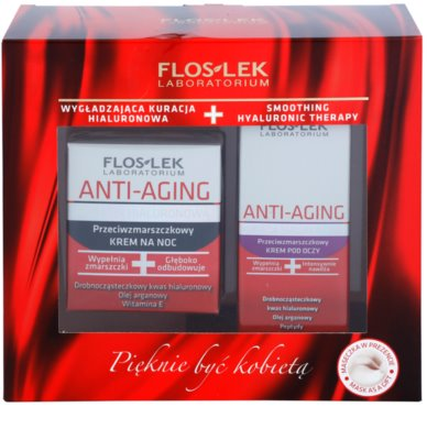 FlosLek Laboratorium Anti-Aging Hyaluronic Therapy Kosmetik-Set  I.
