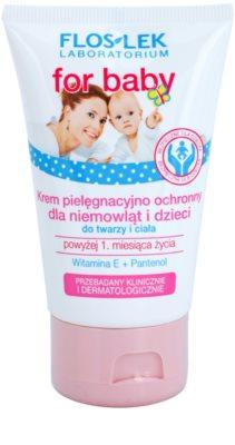 FlosLek Laboratorium For Baby creme suave para pele de bebé