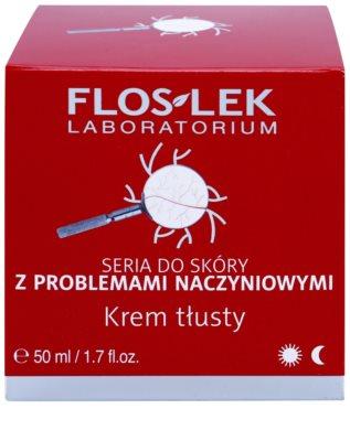 FlosLek Laboratorium Dilated Capillaries подхранващ крем за чувствителна и зачервена кожа 2