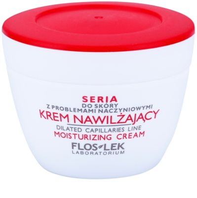 FlosLek Laboratorium Dilated Capillaries hydratační krém pro pleť s nedokonalostmi