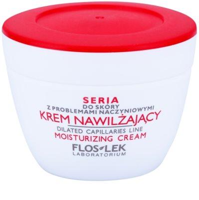 FlosLek Laboratorium Dilated Capillaries vlažilna krema za kožo z nepravilnostmi