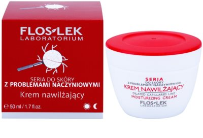 FlosLek Laboratorium Dilated Capillaries crema hidratante para pieles con imperfecciones 1