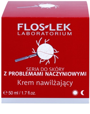 FlosLek Laboratorium Dilated Capillaries crema hidratante para pieles con imperfecciones 2