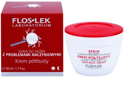 FlosLek Laboratorium Dilated Capillaries crema restauradora antivarices 1