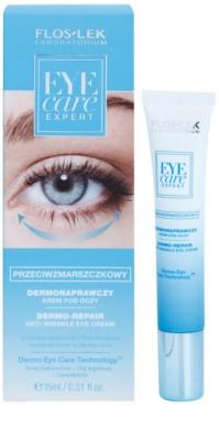 FlosLek Laboratorium Eye Care Expert крем для шкіри навколо очей проти зморшок та темних кіл 1