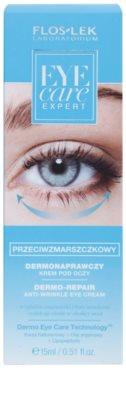 FlosLek Laboratorium Eye Care Expert крем для шкіри навколо очей проти зморшок та темних кіл 2