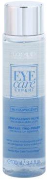 FlosLek Laboratorium Eye Care Expert двофазний засіб для зняття макіяжу з очей