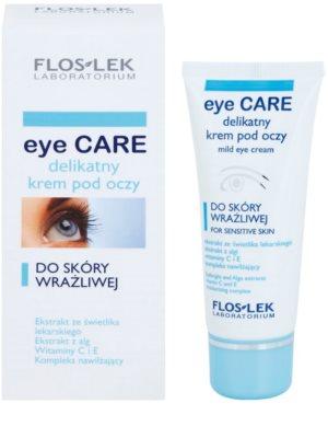 FlosLek Laboratorium Eye Care nežna krema za predel okoli oči za občutljivo kožo 1