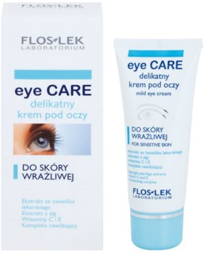 FlosLek Laboratorium Eye Care creme de olhos fino para pele sensível 1