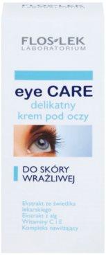 FlosLek Laboratorium Eye Care nežna krema za predel okoli oči za občutljivo kožo 2