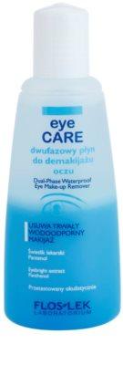 FlosLek Laboratorium Eye Care dvofazni odstranjevalec ličil za okoli oči