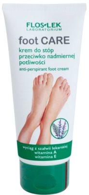 FlosLek Laboratorium Foot Care krém na nohy proti nadmernému poteniu