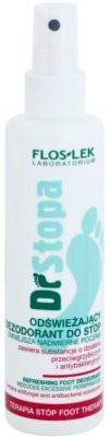FlosLek Laboratorium Foot Therapy освіжаючий дезодорант для ніг у формі спрею