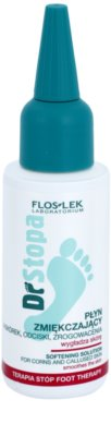 FlosLek Laboratorium Foot Therapy омекотяващ флуид за мазоли, набивания и кокоши трън