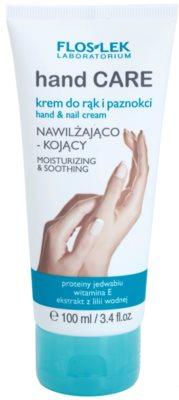 FlosLek Laboratorium Hand Care Moisturizing&Soothing krem nawilżająco-kojący do rąk i paznokci