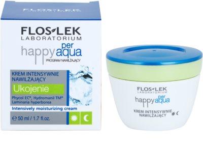 FlosLek Laboratorium Happy per Aqua интензивен хидратиращ гел с матиращ ефект 1
