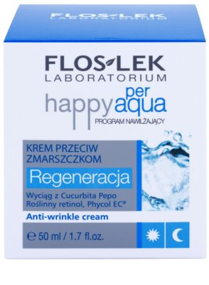 FlosLek Laboratorium Happy per Aqua regenerierende Creme gegen Falten 2