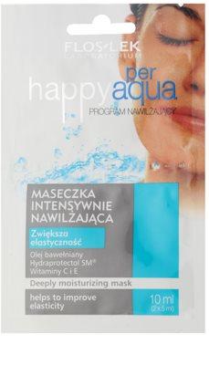 FlosLek Laboratorium Happy per Aqua intensive hydratisierende Maske