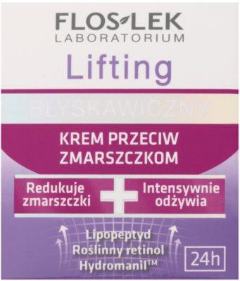 FlosLek Laboratorium Lifting Immediate crema anti-rid cu efect lifting 2