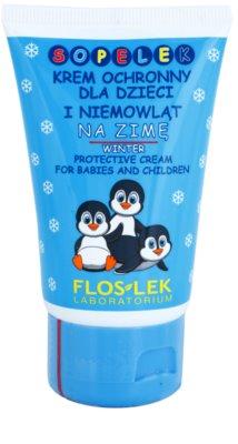 FlosLek Laboratorium Kids creme de proteção contra o inverno para crianças