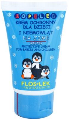 FlosLek Laboratorium Kids zimní ochranný krém pro děti