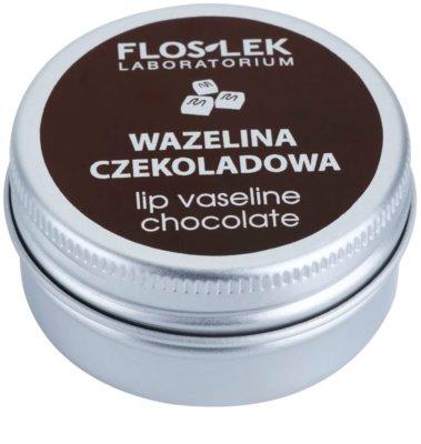 FlosLek Laboratorium Lip Care Chocolate вазелін для губ