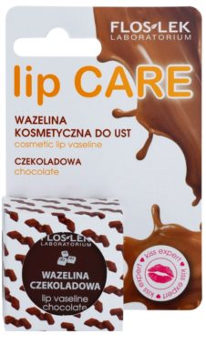 FlosLek Laboratorium Lip Care Chocolate vazelína na rty 2