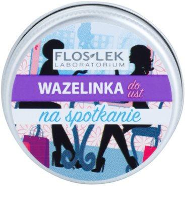 FlosLek Laboratorium Lip Vaseline Meeting Lippenbalsam