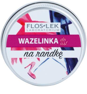 FlosLek Laboratorium Lip Vaseline Date balzam za ustnice