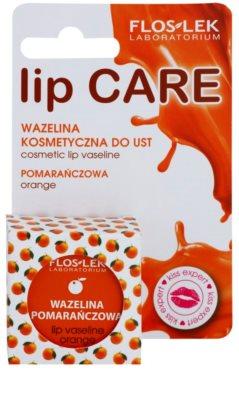 FlosLek Laboratorium Lip Care Orange Vaseline für Lippen 2