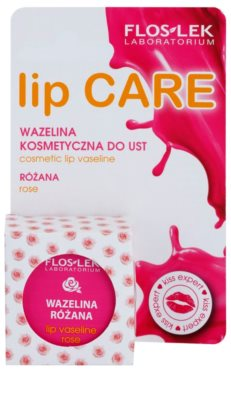 FlosLek Laboratorium Lip Care Rose Vaseline für Lippen 2