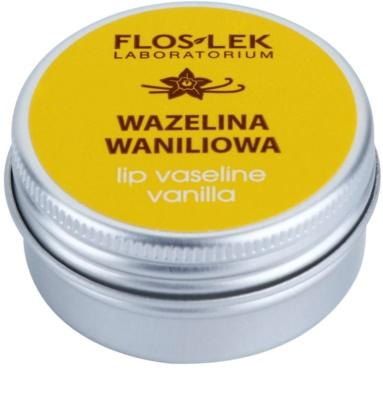 FlosLek Laboratorium Lip Care Vanilla Vaseline für Lippen