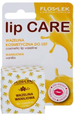FlosLek Laboratorium Lip Care Vanilla vazelin az ajkakra 2