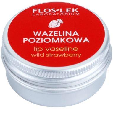 FlosLek Laboratorium Lip Care Wild Strawberry Vaseline für Lippen