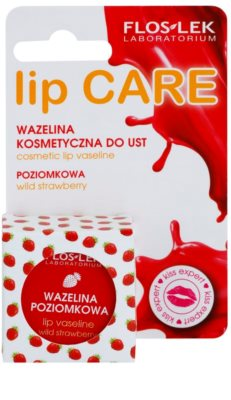 FlosLek Laboratorium Lip Care Wild Strawberry vaselina para lábios 2