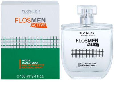 FlosLek Laboratorium FlosMen Active Eau de Toilette para homens
