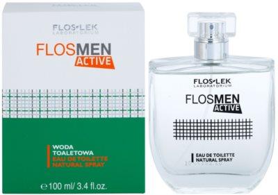 FlosLek Laboratorium FlosMen Active toaletní voda pro muže