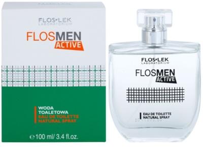 FlosLek Laboratorium FlosMen Active туалетна вода для чоловіків