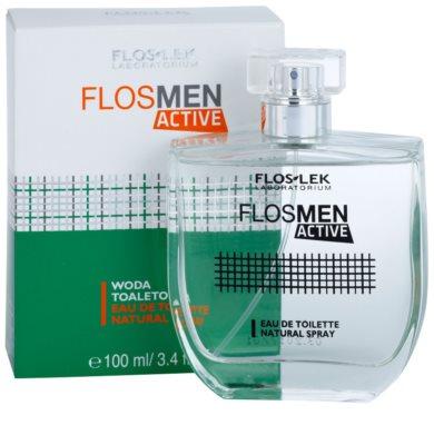 FlosLek Laboratorium FlosMen Active туалетна вода для чоловіків 2