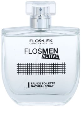 FlosLek Laboratorium FlosMen Active туалетна вода для чоловіків 3